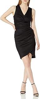 فستان ستيفاني من الكتان المرن للنساء من نيكول ميلر