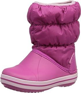 Crocs Winter Puff Boot Kid, Bottes de Neige Mixte Enfant