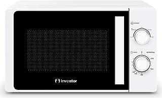 Inventor Micro-ondes MWO-20LW, 700W, Blanc, 20 litres, Plateau tournant 25,5cm, 5 Niveaux de chauffage, Fonction de décong...