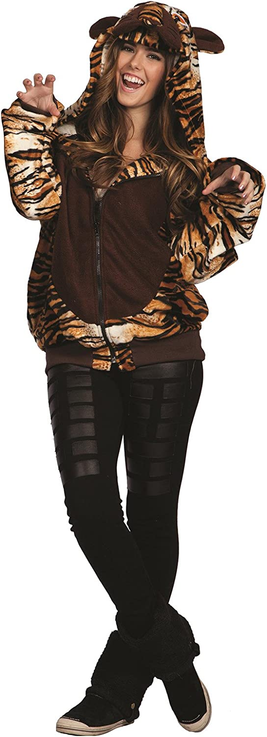 TAYLOR TIGER HOODIE ADT SMALL