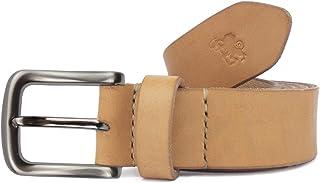 Cintura in cuoio uomo artigianale Aker personalizzabile gratis