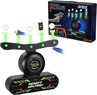 Electric Floating Target for Shooting, Glow in The Dark Target Game for Boys and Girls Ages 6-10, Nerf Target for Shooting...