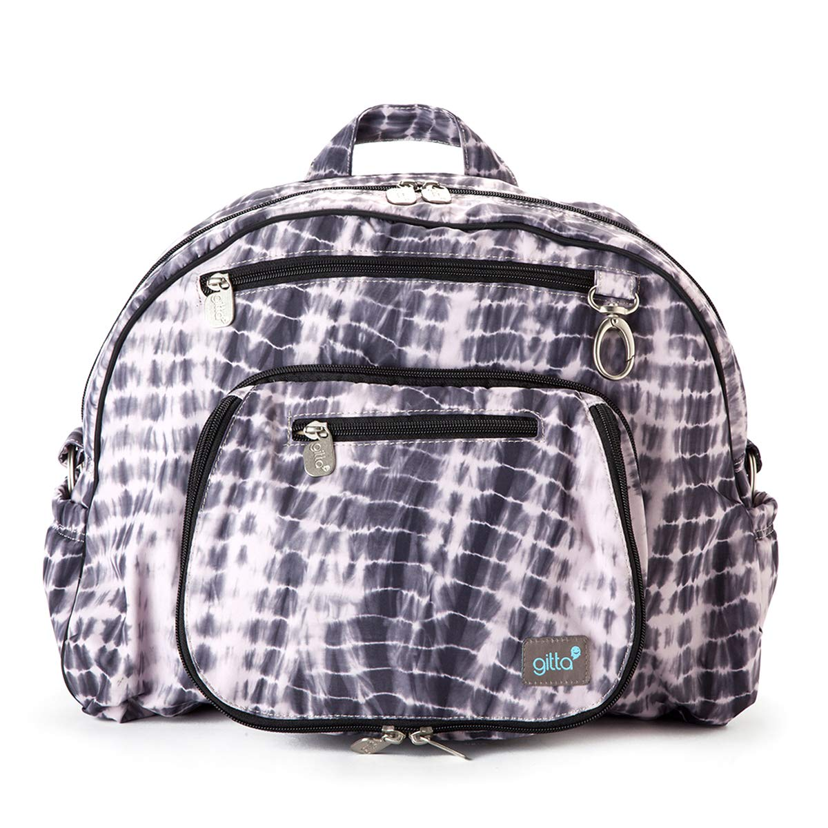 Gitta Jumbo Multi Function Baby Nappy Changing Diaper Backpack, Tie Dye