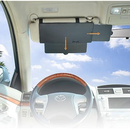 Wanpool Auto Visier Anti Blend Sonnenblenden Verlängerung Für Den Fahrer Oden Beifahrer Auf Den Vorderen Sitzen 1 Stück Auto