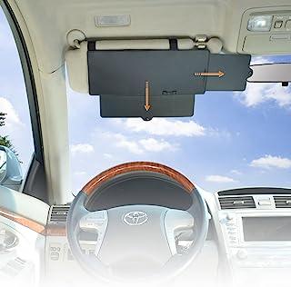 Car Window Sunshade WANPOOL Car Visor Anti-Glare Sunshade Extender for Front Seat Driver and Passenger