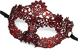 Venetian Lace Mask Hollow Masquerade Party Costume Mask for Women Girls