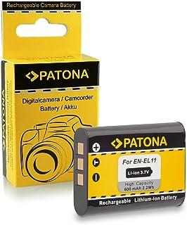 Bateria Nikon EN-EL11 | Olympus Li-60B | Pentax D-Li78 para Nikon Coolpix S550 | S560 | S600 | Olympus C-575 | FE-370 | X-880 | Pentax Optio M50 | M60 | S1 | V20 | W60 | W80 | Ricoh R50 | Sanyo Xacti