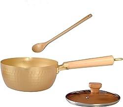 Nonstick Saucepan yukihira pan with Glass Lid 1.7-Quart Soup Pot Cooking Pot Multipurpose Use, Small Pot Milk Saucepan wit...