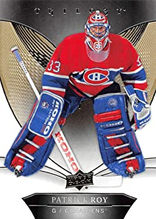 2018-19 Upper Deck Trilogy Hockey #50 Patrick Roy Montreal Canadiens Official Trading Card From UD