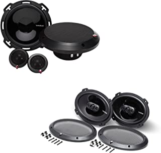 """$339 » Sponsored Ad - Rockford Fosgate - 1 Pair of P165-SE Punch 6.5"""" 2-Way Component Speakers with 1 Pair of P1694 Punch 6X9 4-W..."""