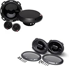 """$359 » Sponsored Ad - Rockford Fosgate - 1 Pair of P165-SE Punch 6.5"""" 2-Way Component Speakers with 1 Pair of P1694 Punch 6X9 4-W..."""