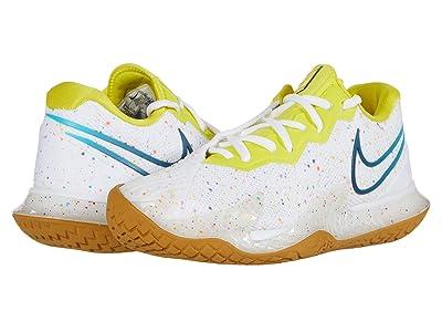 Nike NikeCourt Air Zoom Vapor Cage 4 (White/Valerian Blue/Oracle Aqua) Women