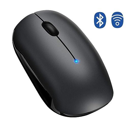 e586cc672ac Bluetooth Mouse,【Dual-Mode Tech,Silent Design,15 Months Battery Life