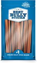 Best Bully Sticks Odor-Free Angus Bully Sticks - Made of All-Natural, Free-Range, Grass-Fed Angus Beef - Hand-Inspected and USDA/FDA-Approved