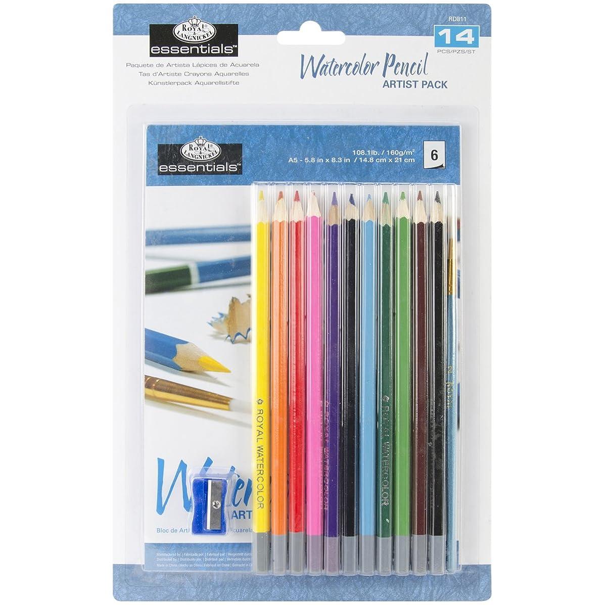 Royal & Langnickel Essentials Watercolor Pencil Set
