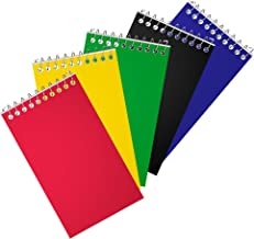 "Staples Top Bound Memo Books, 3"" x 5"", 5/Pack (11491)"
