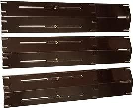 Set of 3 Heavy Duty BBQ Gas Grill Porcelain Steel Heat Plates for Brinkmann Grill models
