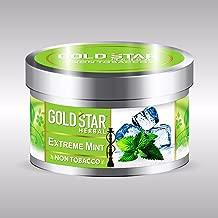 GOLDSTAR Herbal NON Tobacco Smoke EXTREME MINT Flavor Premium Hookah 200 gm