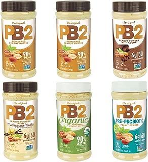 PB2 Powdered Peanut Butter Variety 6-Pack Bundle