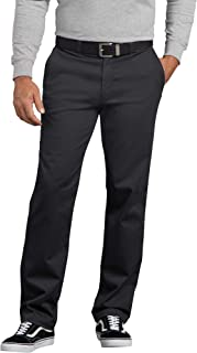 Dickies Men's Flex Active Waist Washed Chino Pant-Slim Taper Fit