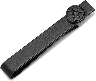 Star Wars Satin Black Imperial Symbol Tie Bar ، دارای مجوز رسمی
