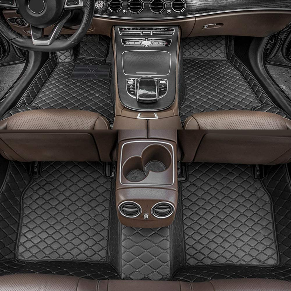 Dinuoda-US Car Over item handling Floor Mats for Second Limited time cheap sale 2-Sea 2008-2010 Sequoia Row