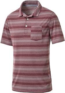 PUMA Men's 576133 Local Pro Polo Shirt, Medium, Pomegranate