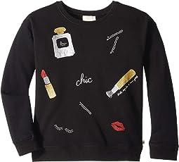 Glamour Collage Sweatshirt (Little Kids/Big Kids)