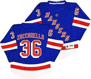 Outerstuff Mats Zuccarello New York Rangers #36 Youth Blue Home Replica Jersey
