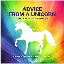 2019 Advice from a Unicorn Daily Desk Calendar