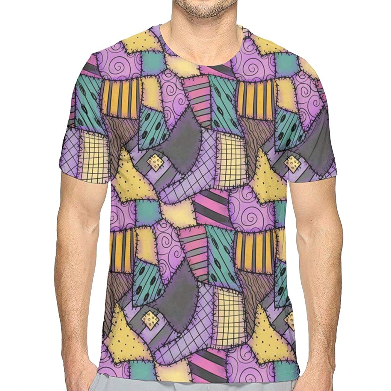 YongColer Mens 3D Printed Shirt Casual Soft Athletic Regular Fit Summer Graphic Tee Shirts