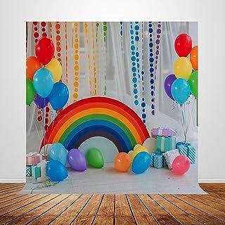 Fivan Geburtstagsbanner Fotohintergrund für Kindergeburtstag, Fotohintergrund, Vinyl Dekoration