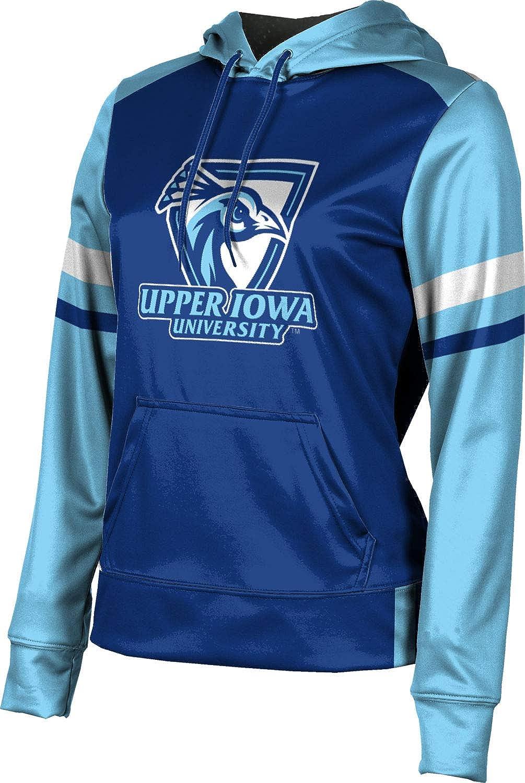 ProSphere Upper Iowa University Girls' Pullover Hoodie, School Spirit Sweatshirt (Old School)
