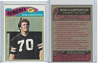 1977 Topps Football, 168 Ron Carpenter, Cincinnati Bengals
