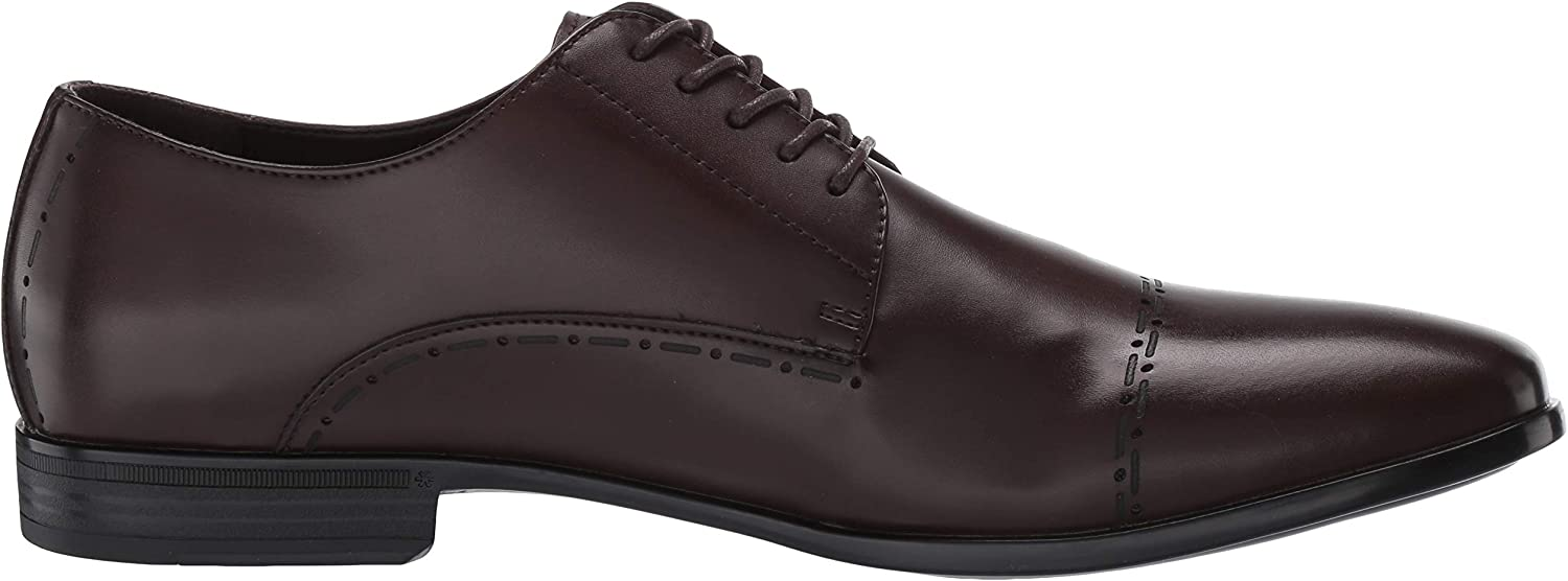 Kenneth Cole REACTION Men's Eddy Brouge Lace Up Cap Toe Oxford