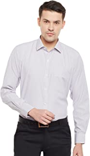 Lamode Men's Stripe Sky Blue Stripe Formal Shirt921