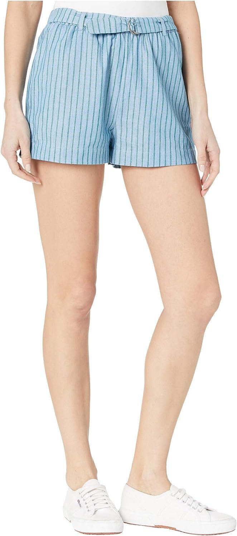 RVCA Women's Juno Striped Denim Short