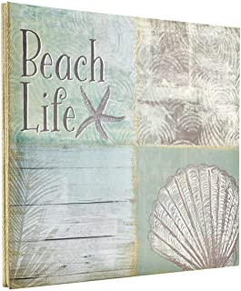 MCS MBI 13.5x12.5 Inch Beach Life Theme Scrapbook Album with 12x12 Inch Pages (860121)