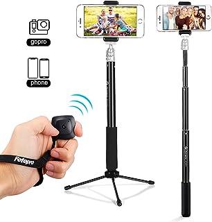 Fotopro Palo Selfie Selfie Stick con Mini Trípode Selfie Trípode con Control Remoto Mini Selfie Stick para GoPro iPhone Samsung Huawei Xiaomi