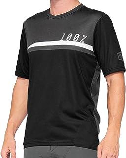 100% MTB-jersey korte mouw Airmatic Black/Charcoal