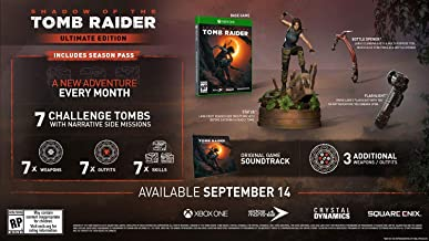 Shadow of the Tomb Raider Ultimate Collectors Edition - Xbox One [video game]