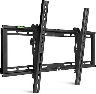 SIMBR Support Mural TV Inclinable ±15° VESA Max 600×400 pour l'écran LED, LCD, Plasma et Incurvé de 26''-75 '' Capacité Ma...