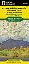 Mazatzal and Pine Mountain Wilderness Areas [Coconino, Prescott, and Tonto National Forests] (National Geographic Trails Illustrated Map (850))