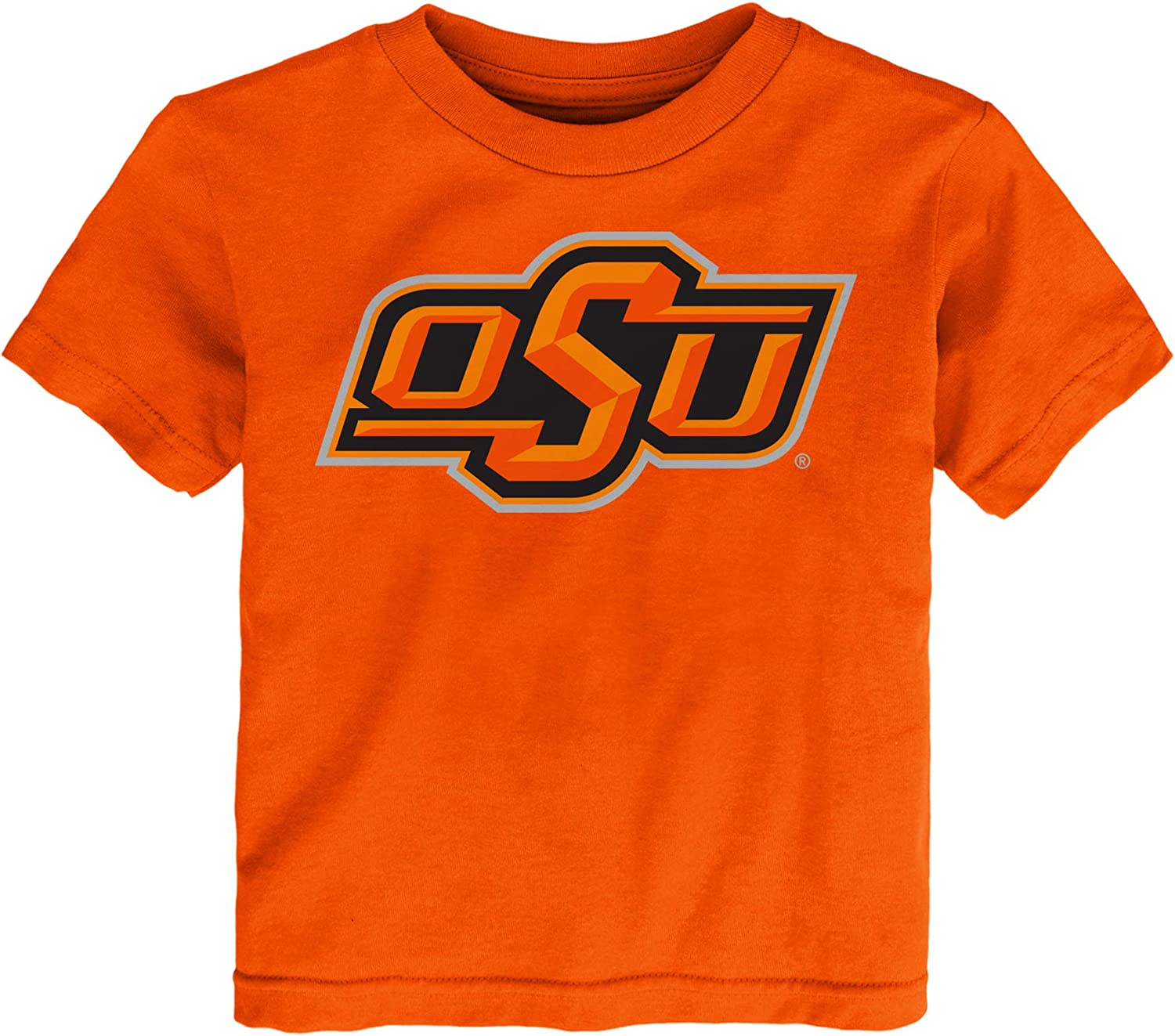 Outerstuff Oklahoma State Cowboys Youth 4-7 Team Logo S/S Tee