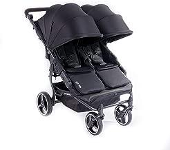 Baby Monsters Silla Gemelar Easy Twin 3.0.S Color Negro Capota reversible