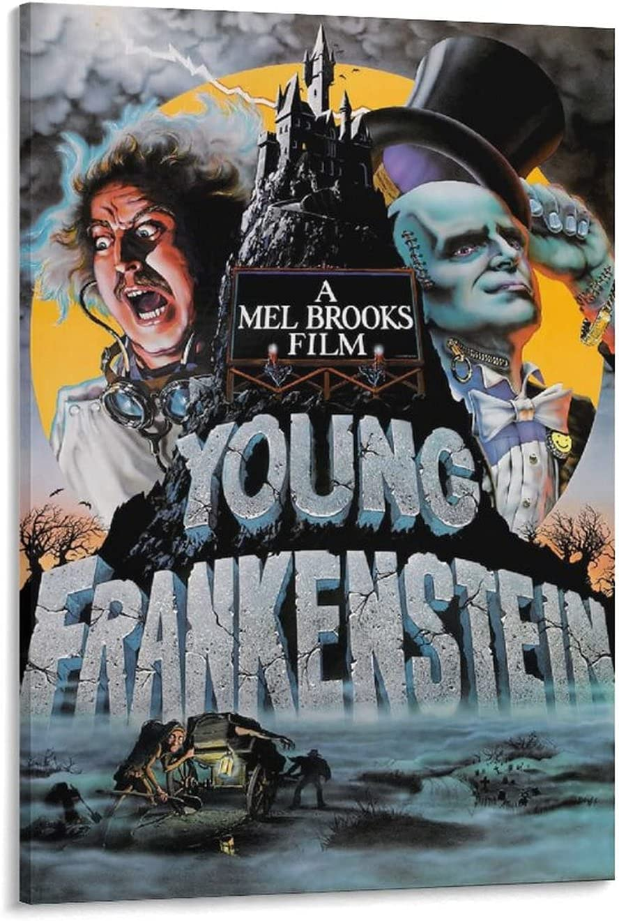 KAITONG Classic Horror Movie Frankenstein Young Rapid rise Poster De Japan's largest assortment