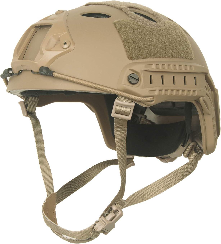 Phoenix Mall LOOGU Fast PJ Base Jump Military Helmet Max 61% OFF Headwear with 12-in-1