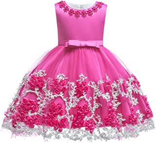 Baby Girls Party Dress Elegant Girl Evening Dress for Wedding Birthday Kids Dresses for 2 to 10 Years Clothes