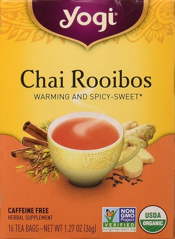 Yogi Herbal Teas Chai Rooibos 16 Ea