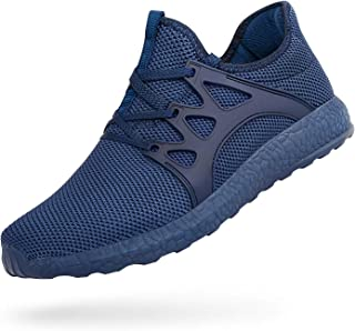 MARSVOVO Men's Sneakers Lightweight Casual Walking Shoes Gym Breathable Mesh Sports Shoes